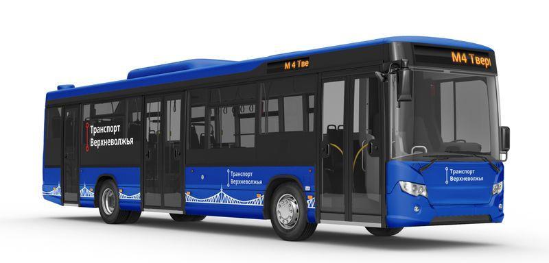 Общественный транспорт в Твери будет синего цвета