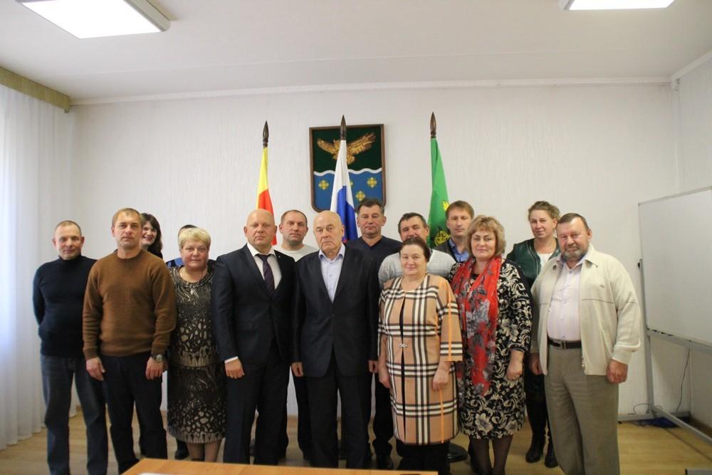 В Жарковском районе прошло первое заседание Собрания депутатов шестого созыва