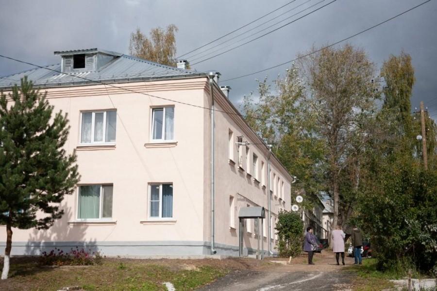 Во Ржеве продолжается капитальный ремонт домов