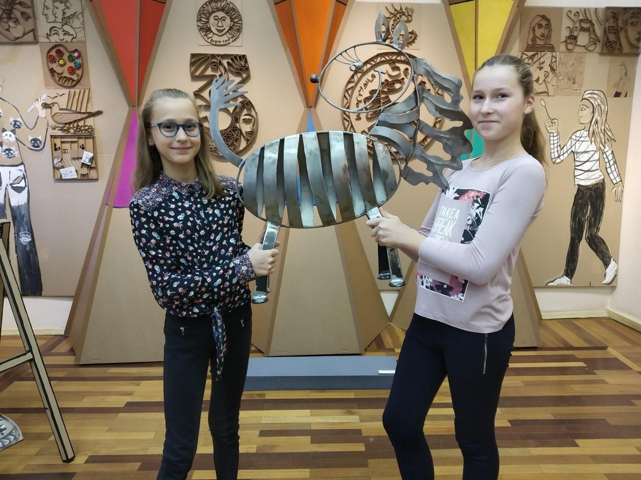 Дети могут попасть бесплатно на выставку «Фантазия окрыляет» в Твери