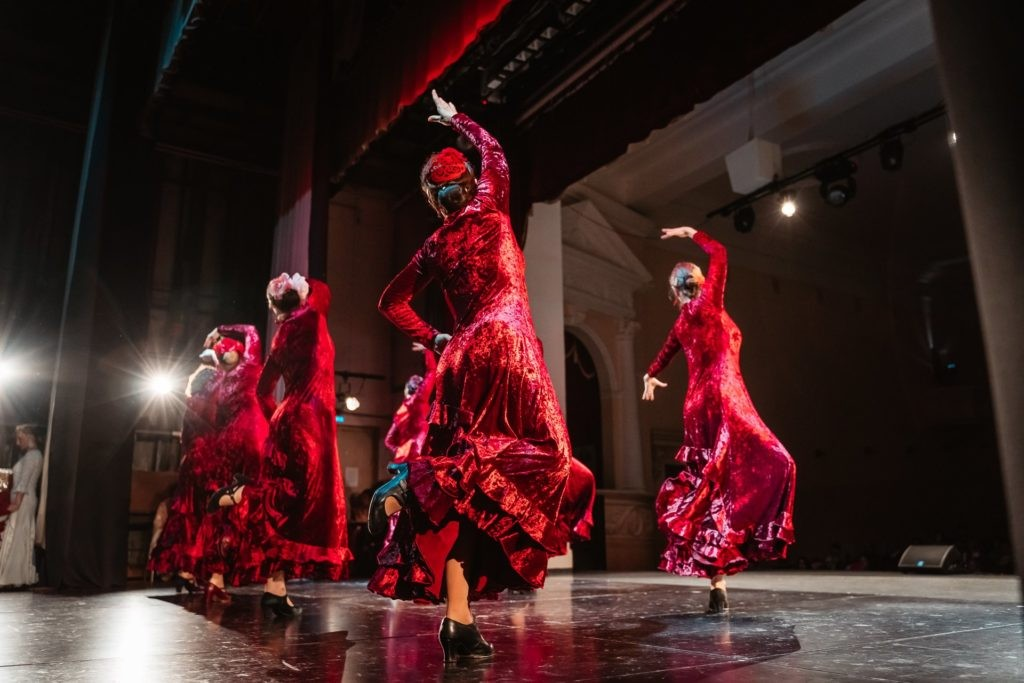 Фестиваль фламенко в Твери ВИДЕО