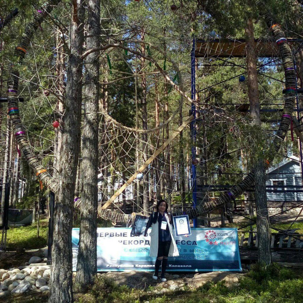 """ВТверской области строят """"ловец снов"""" с пятиэтажный дом"""