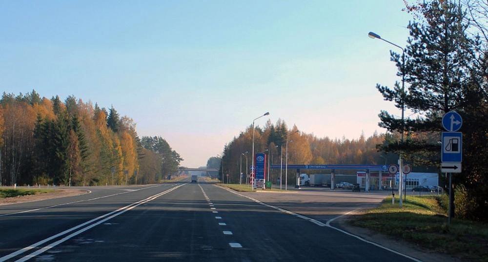 В Тверской области завершен ремонт автодороги «Москва - Рига» - Андреаполь - Пено - Хитино