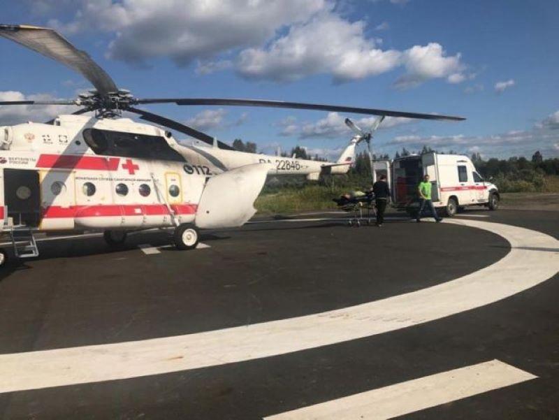 Вертолётами санавиации в Тверской области спасено 207 граждан