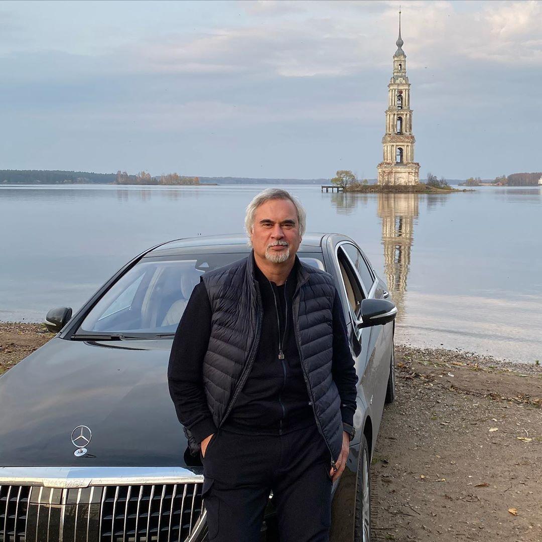 Валерий Меладзе посетил Калязинскую колокольню в Тверской области