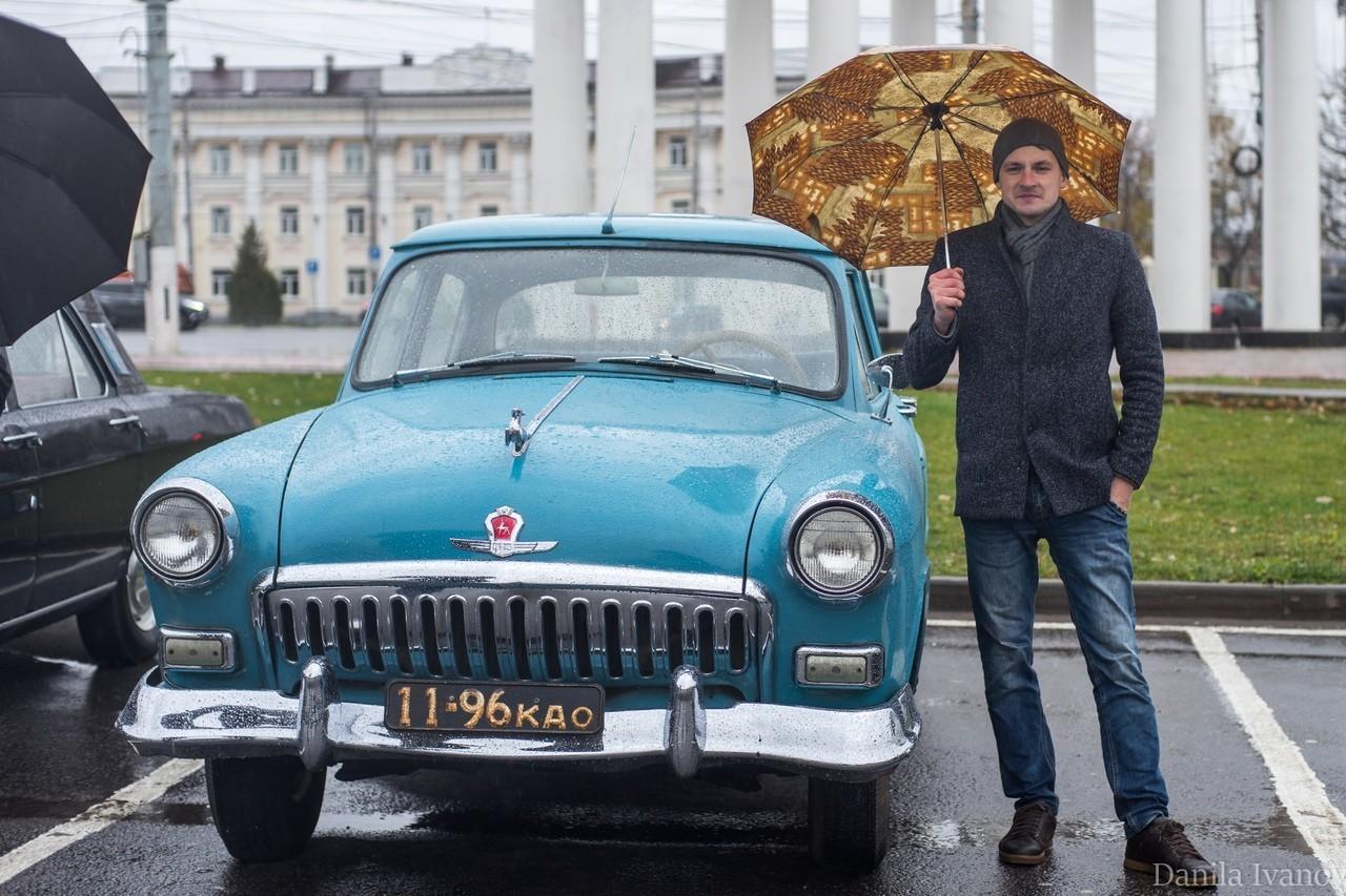 В Твери прошла выставка ретро-автомобилей