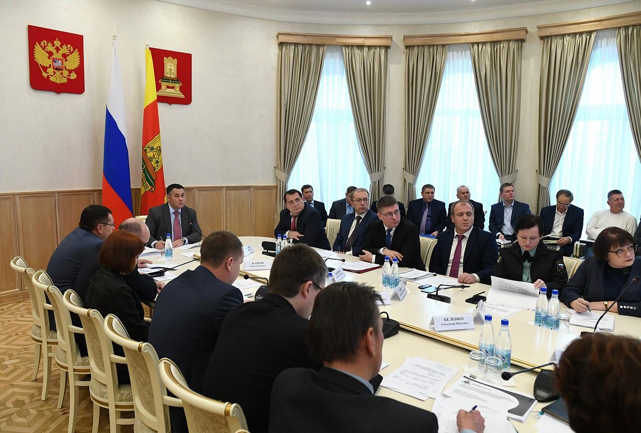 В Тверской области обсудили ситуацию с расчетами за природный газ