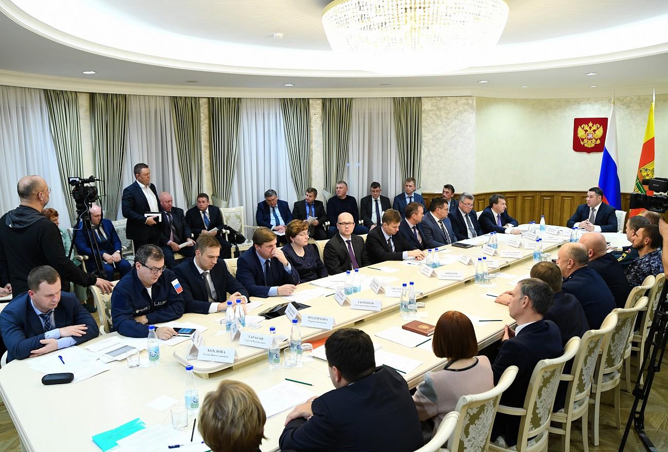 Игорь Руденя: Электроснабжение должно быть восстановлено в кратчайшие сроки