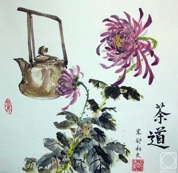 В Твери будут рисовать хризантемы в китайском стиле