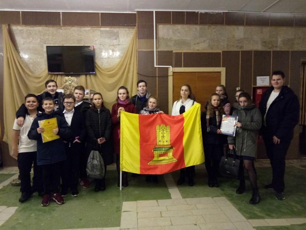 В Кесовогорском районе отметили День герба и флага Тверской области