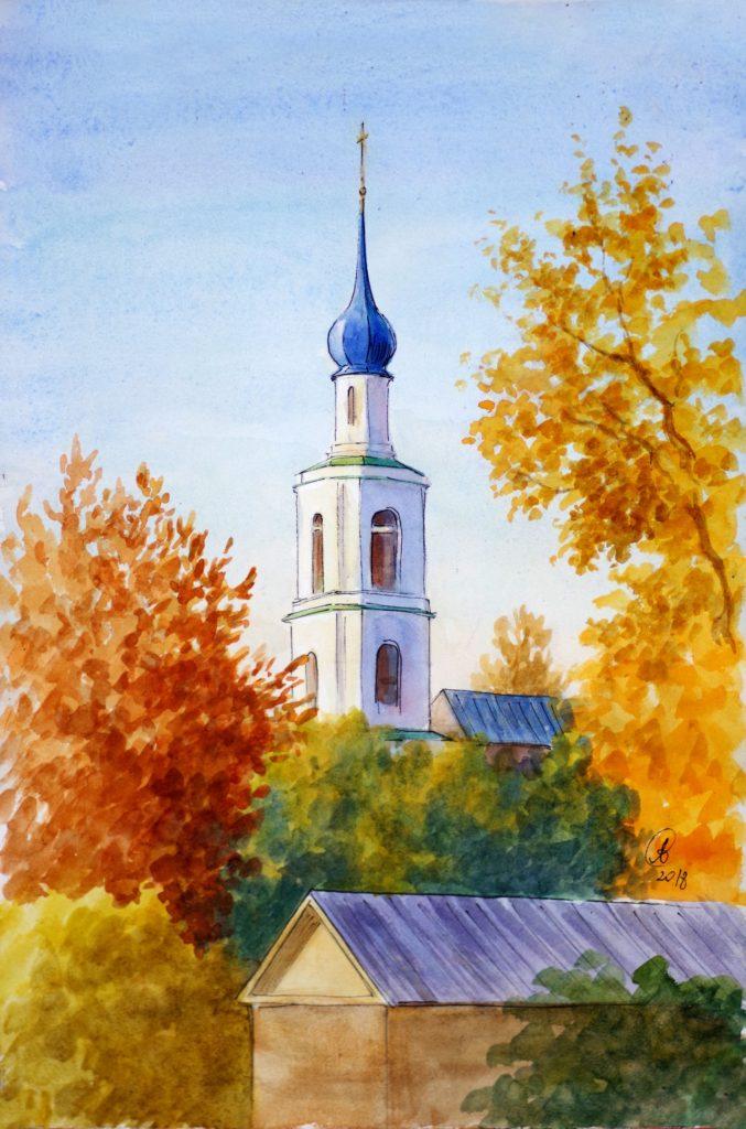 Московский иллюстратор Варвара Леднёва нарисовала серию скетчей о Твери