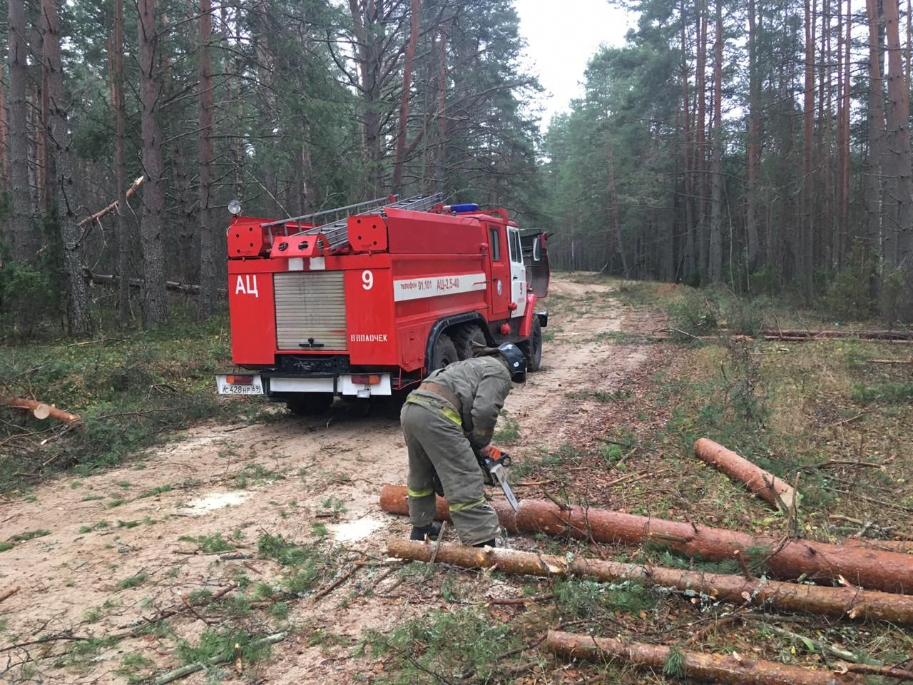 К восстановлению электроснабжения в Тверской области привлечено 1100 специалистов