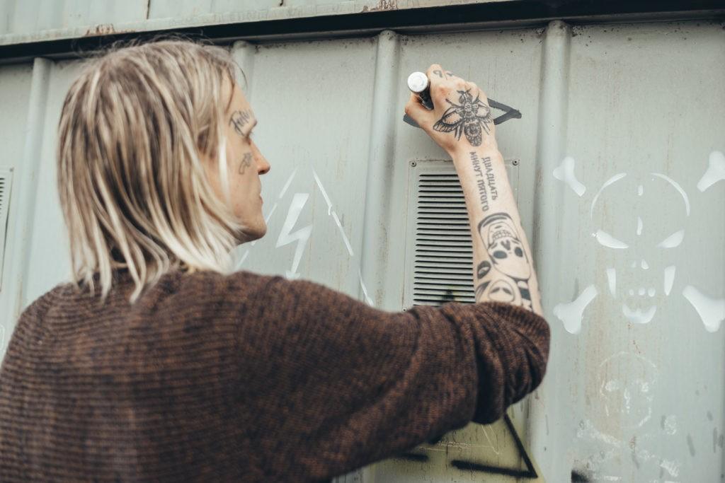 Размазать по стенке: Художник Mike Hyper объясняет, зачем городу граффити