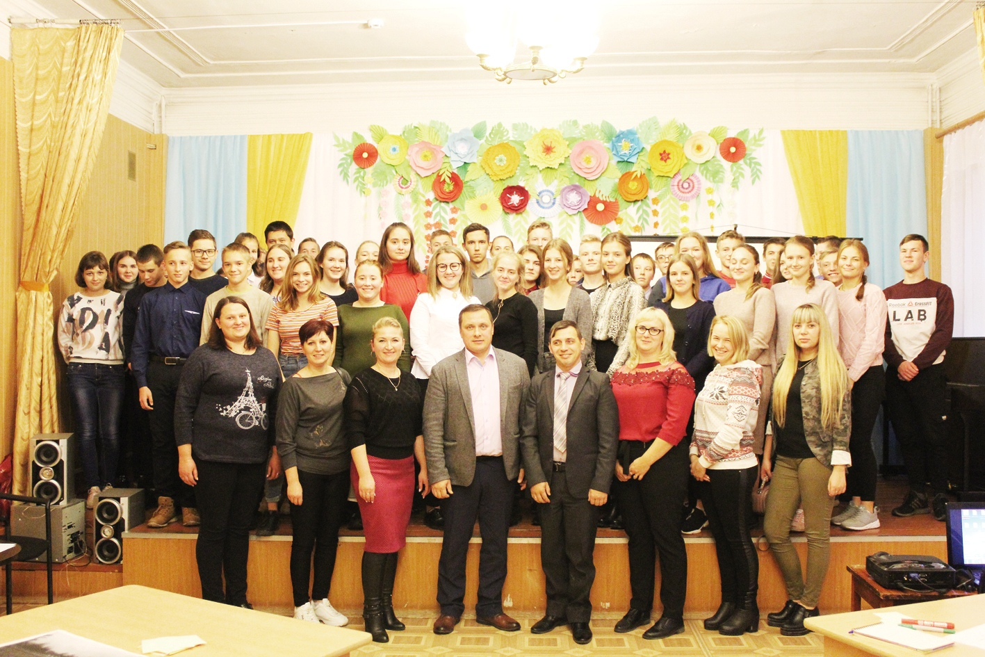 Глава Сандовского района поговорил с молодежью на равных