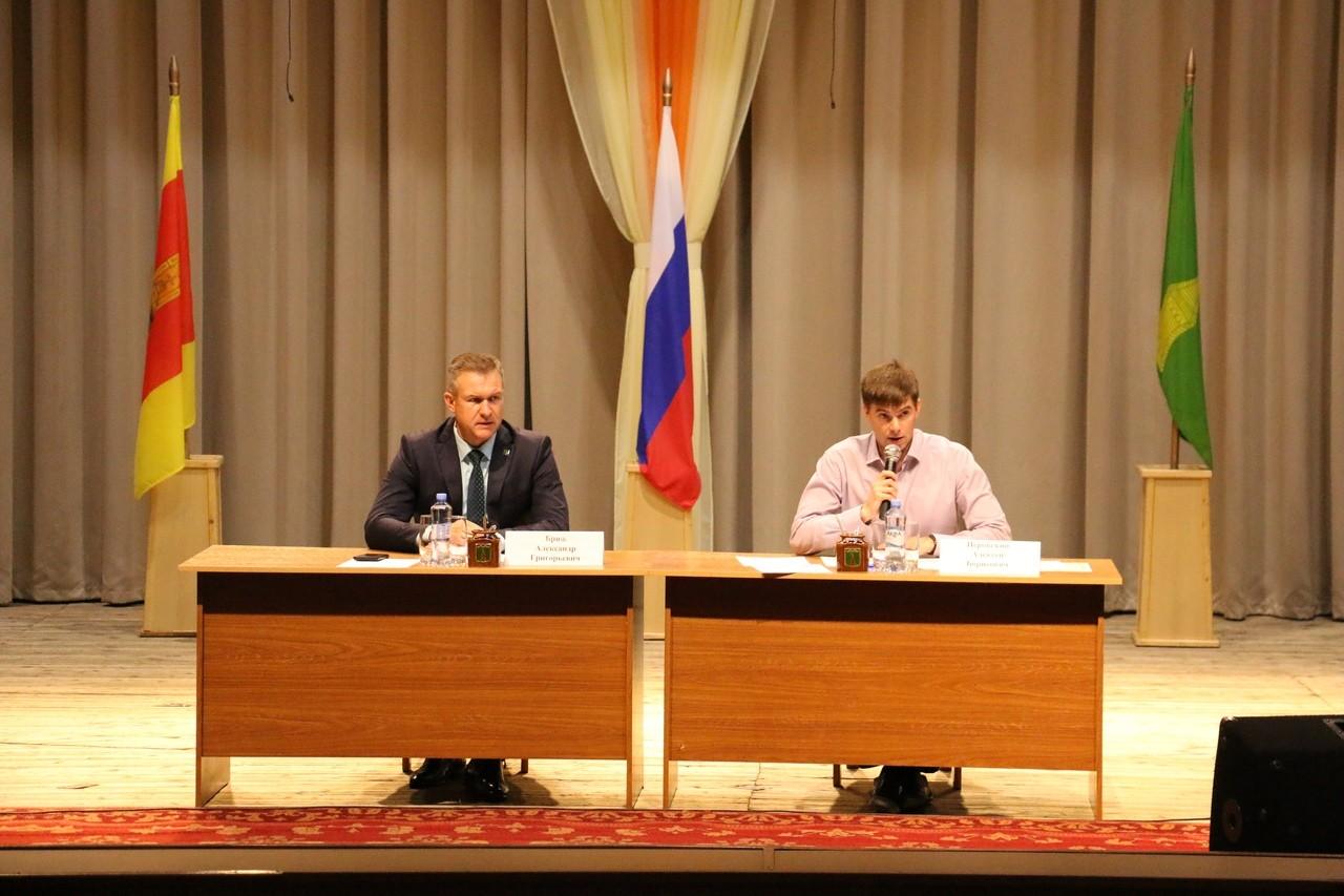 В Торопце обсудили ключевые вопросы развития городских и сельских поселений юго-западного региона Тверской области