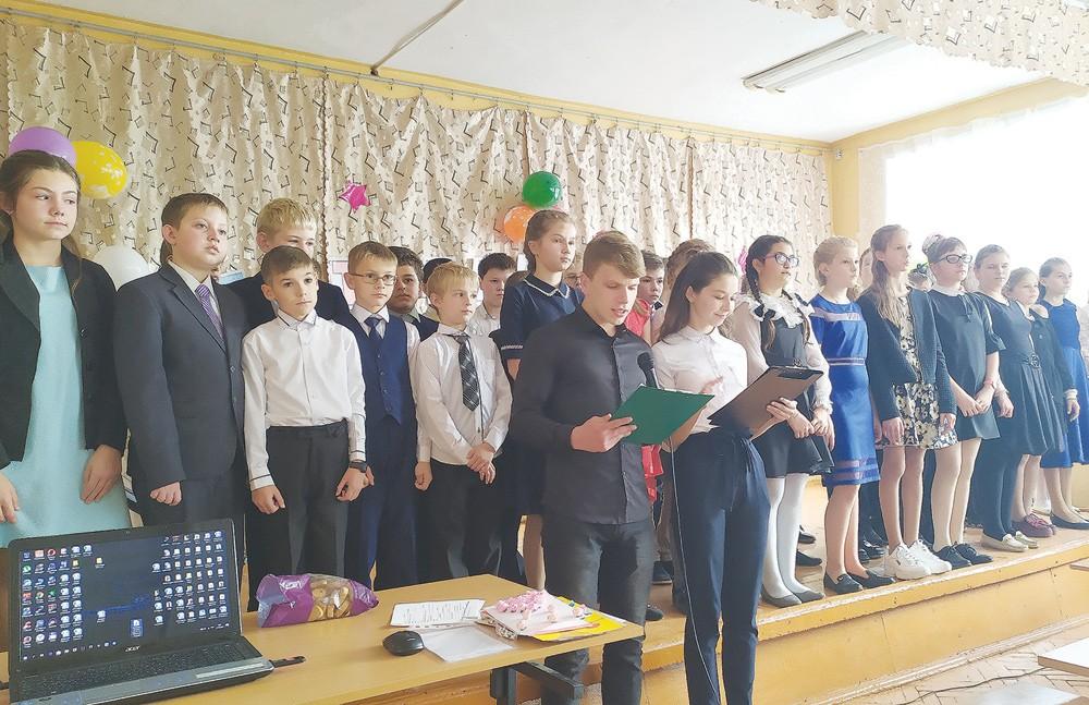 В Жарковском районе прошёл праздник «Посвящение в пятиклассники»