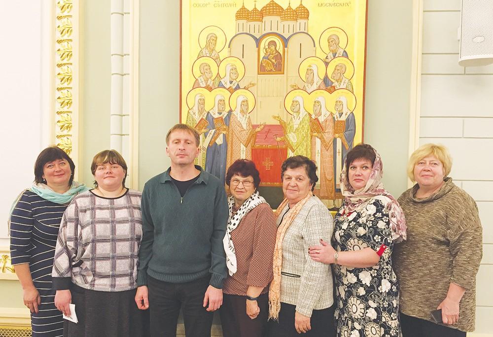 Делегация Жарковского района побывала на православной конференции «Пастырь добрый» в Москве