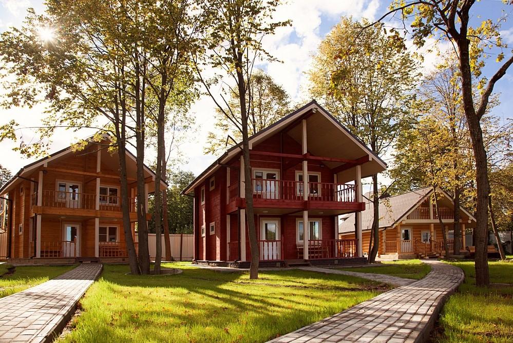 В комплексе отдыха «Ольгино» в Тверской области действует банный комплекс