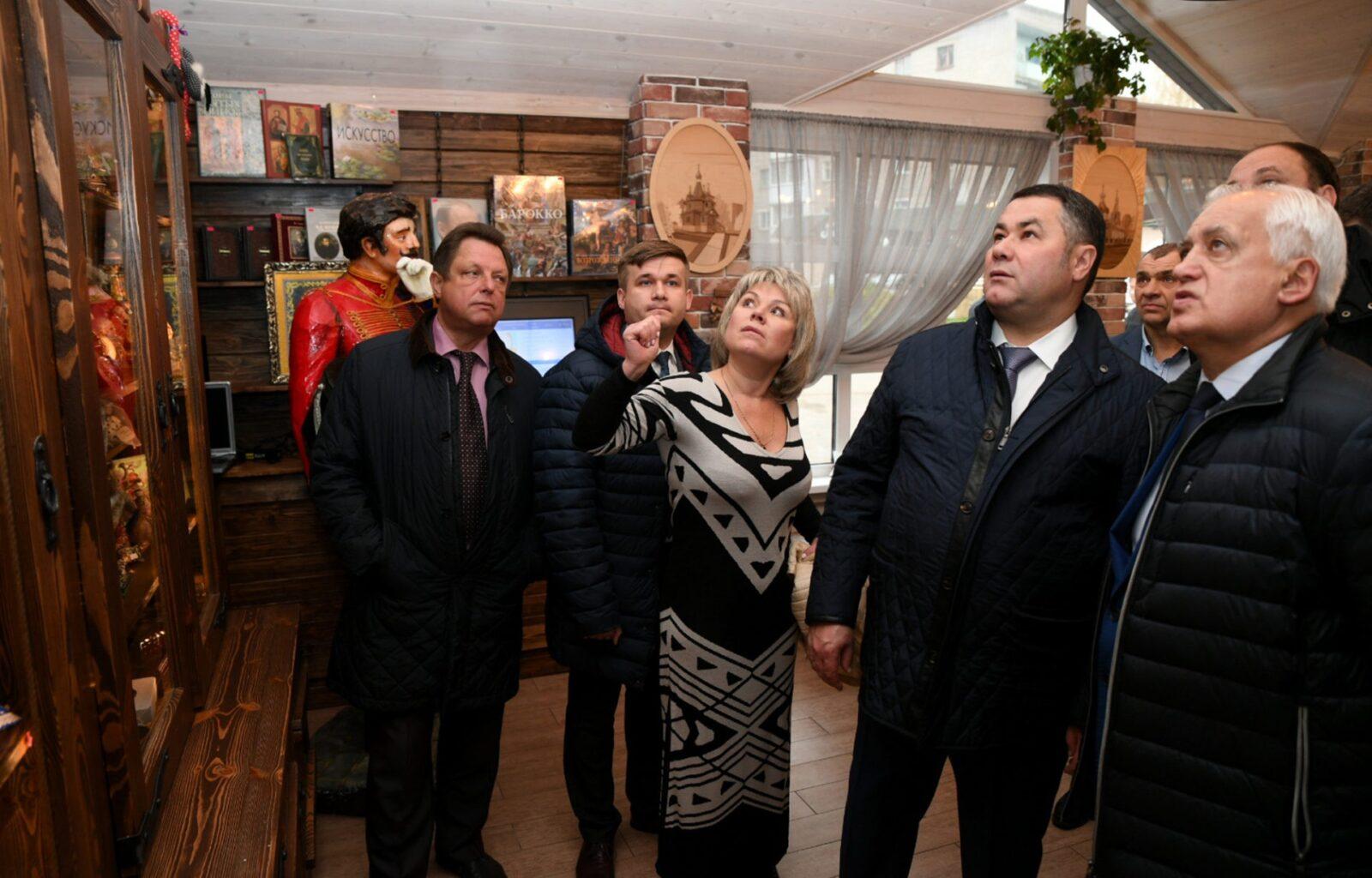 Игорь Руденя: Место размещения нового МФЦ в Ржеве должно быть удобным для горожан