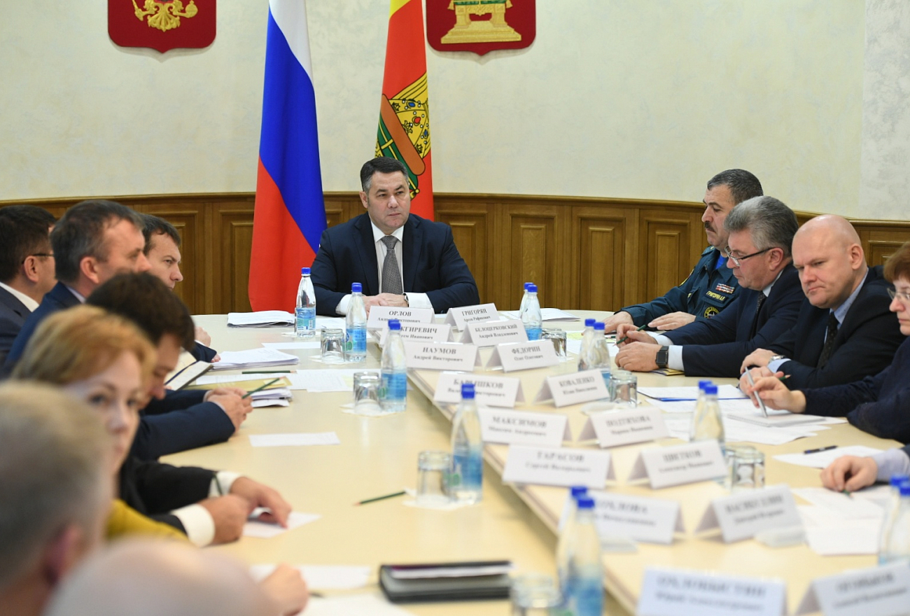 Игорь Руденя провёл совещание специальной комиссии по восстановлению электроснабжения