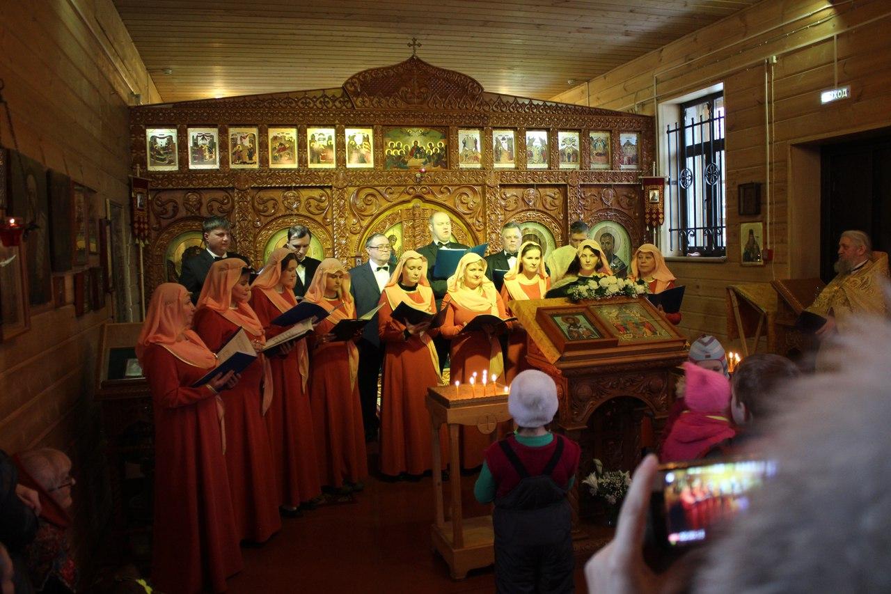 Жители Твери услышат православные духовные песнопения