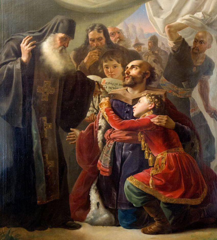 В Императорском дворце расскажут о князе Михаиле Тверском