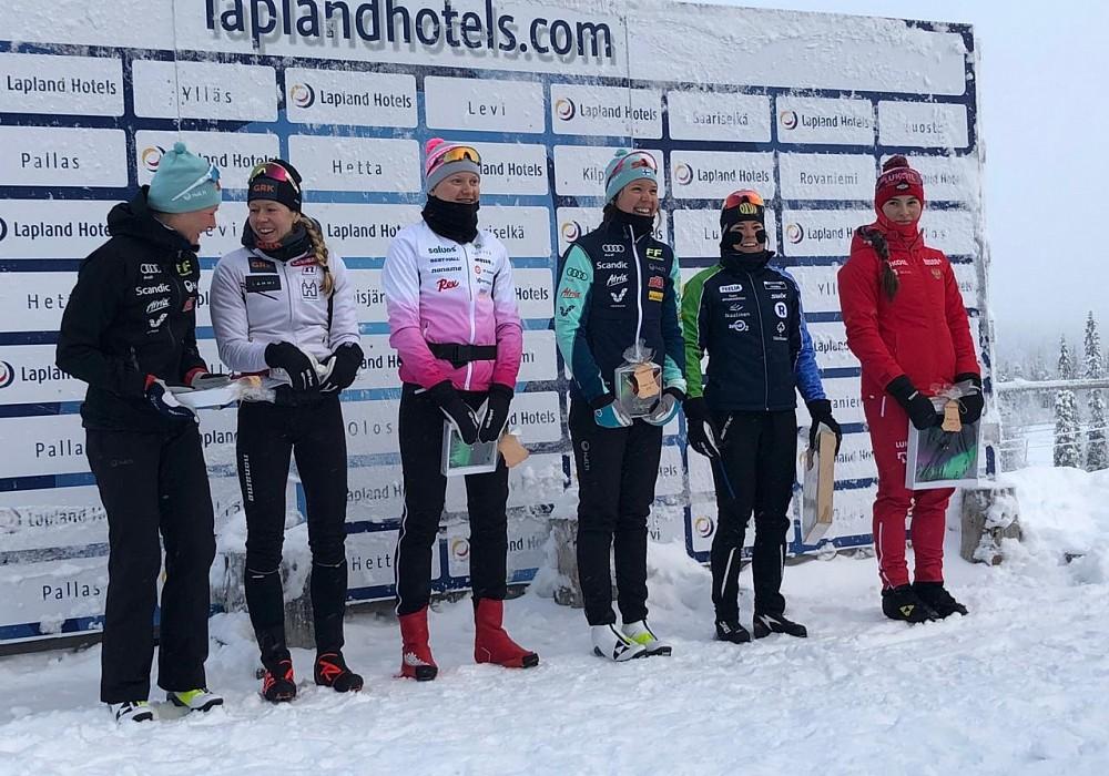 Тверская лыжница Наталья Непряева выиграла все три гонки на турнире в Финляндии