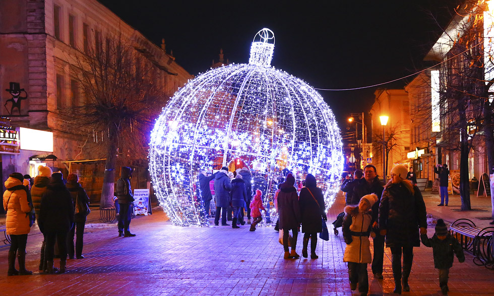 Большинство россиян мечтают встретить Новый год в Твери