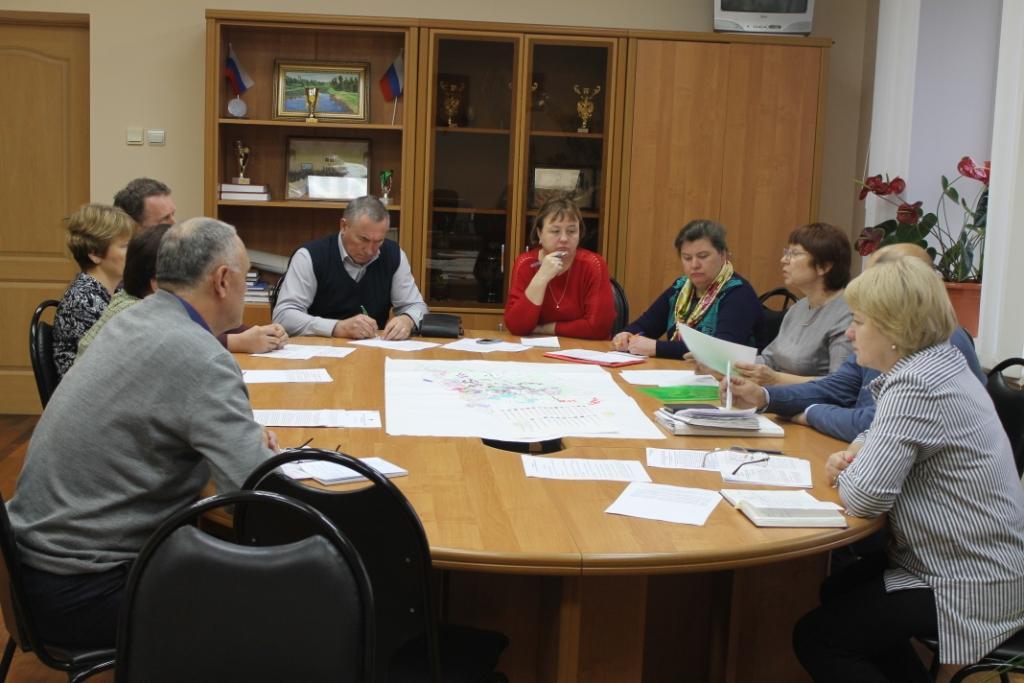 В Кесовогорском районе состоялось совещание с главами сельских поселений