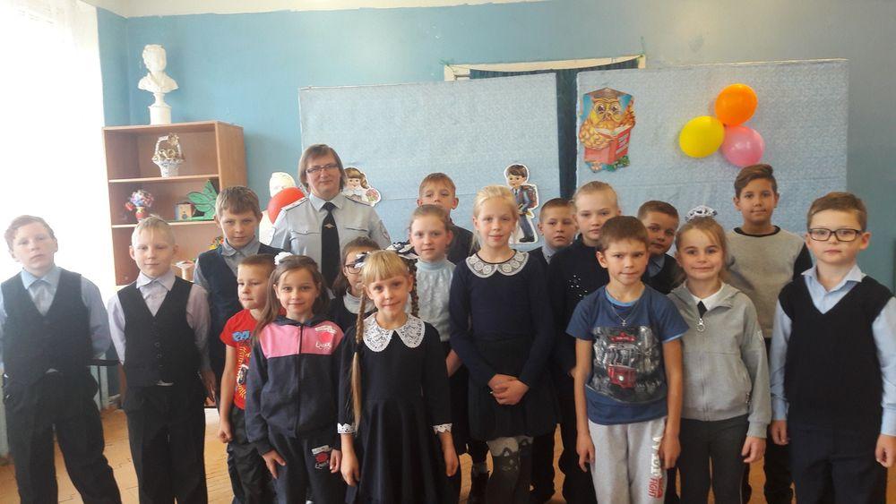 В школе-интернате посёлка Лыкошино прошёл урок безопасности