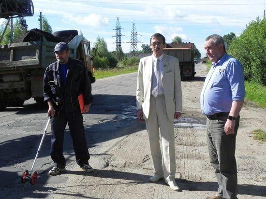 В поселке Оленинского района отремонтируют дороги