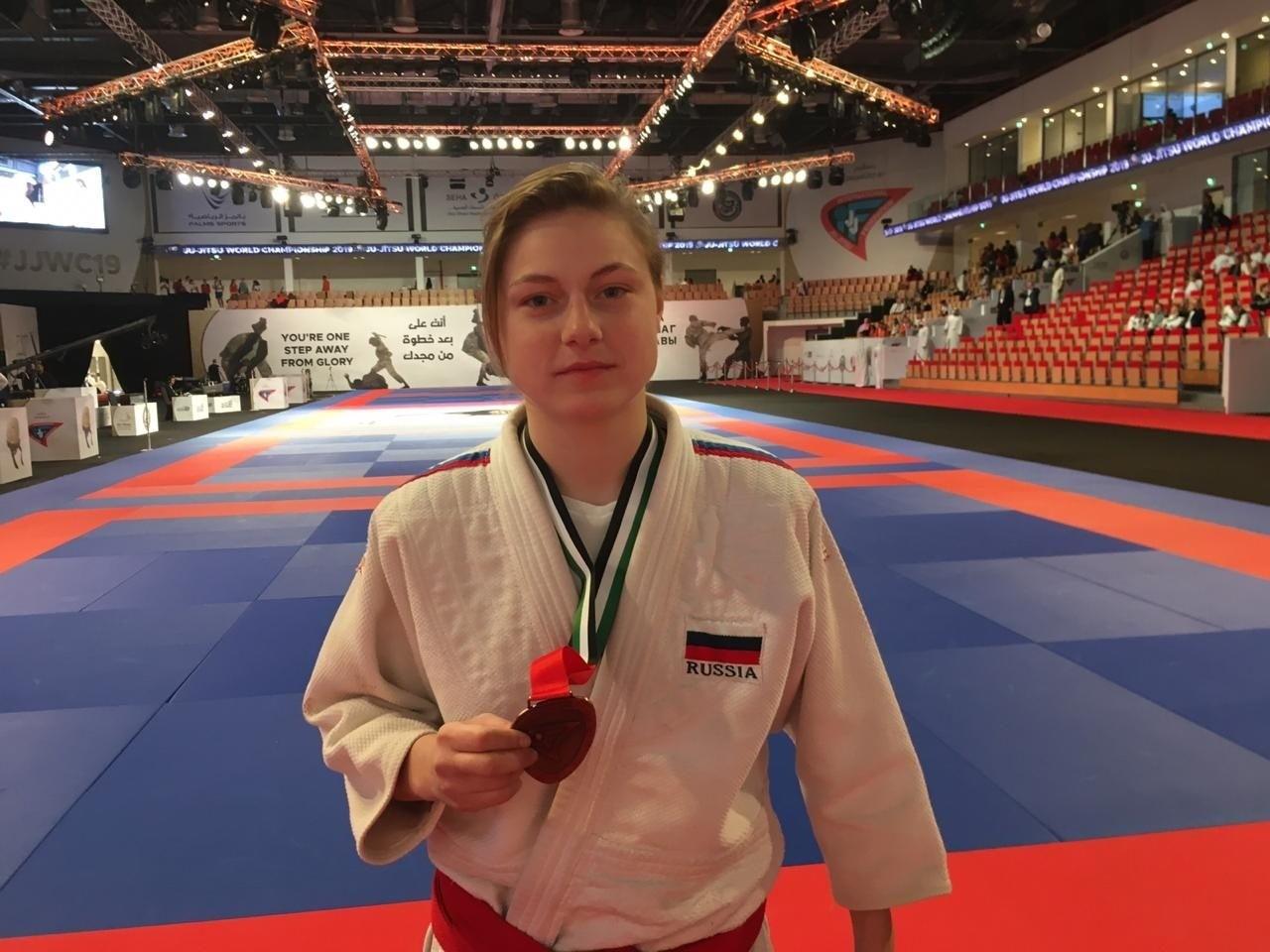 Спортсменка из Кашина завоевала бронзу на чемпионате в Абу-Даби