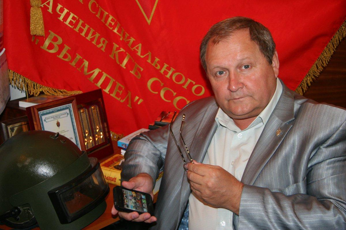 Полковник ФСБ в отставке представит свои книги в Твери