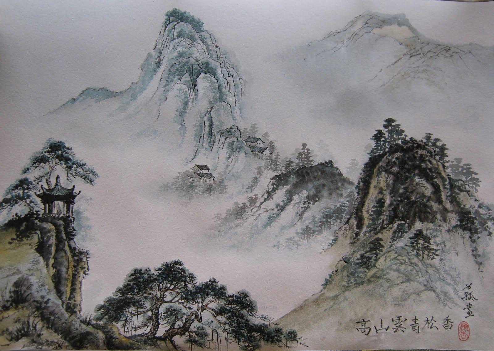 В Твери пройдет мастер-класс по китайской живописи