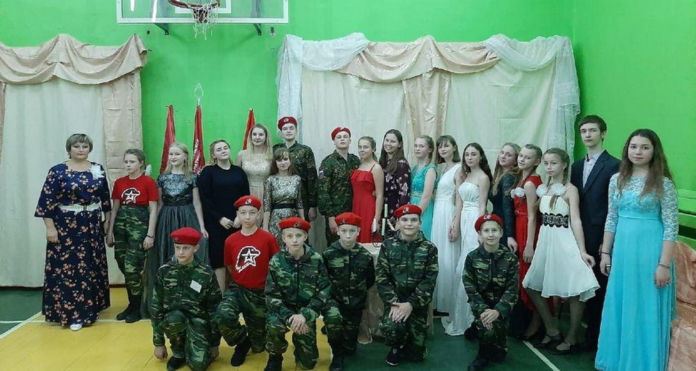 В Лихославльском районе прошли очередные сборы юнармейцев