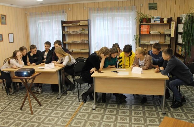 В Жарковском районе школьники учились делать бизнес