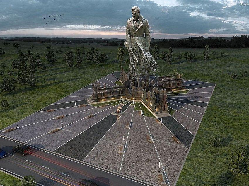 Владимир Путин и патриарх Кирилл осмотрели макет Ржевского мемориала на выставке в Москве