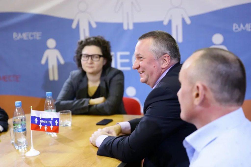 Политическую ситуацию в Кимрах обсудили в рамках проекта «Вместе»