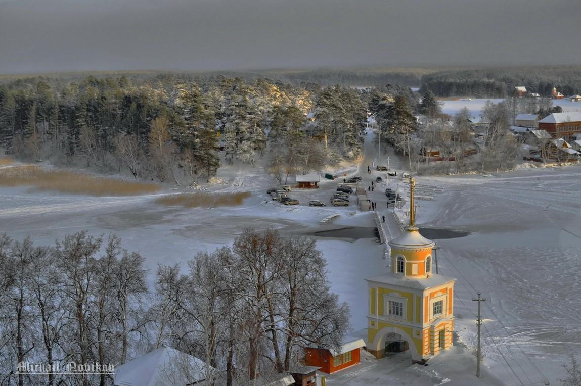 Селигер вошел в топ-5 озер для зимнего отдыха