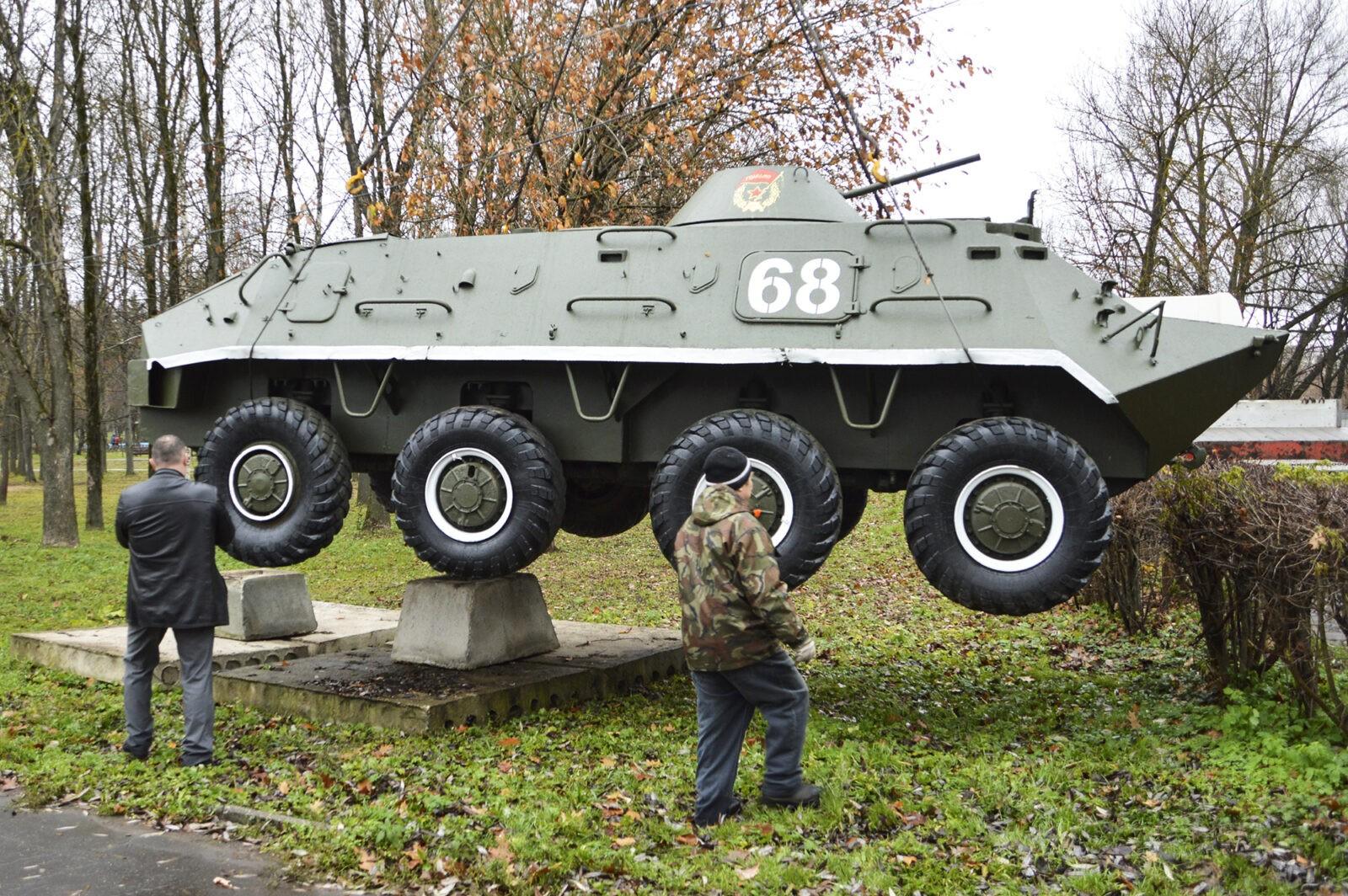 В парке Победы Твери установили новый экспонат