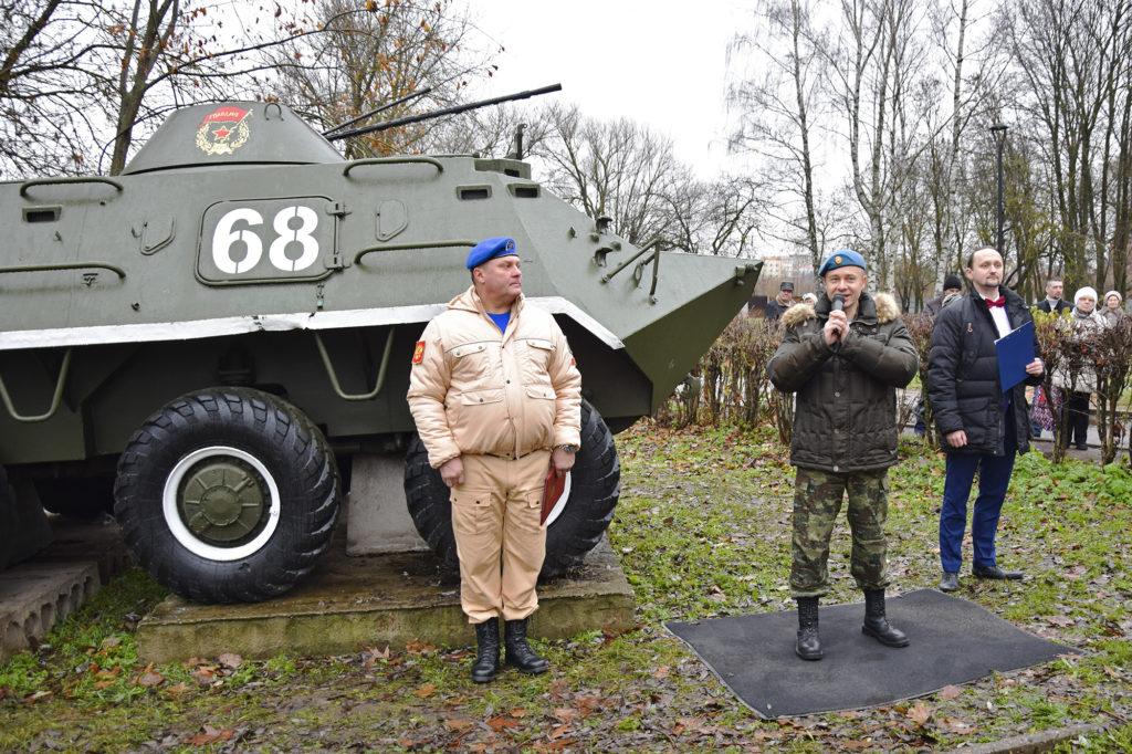 В Твери в торжественной обстановке открыли новый экспонат музея бронетехники
