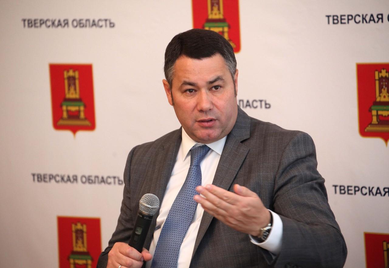 Игорь Руденя вошел в тройку лидеров медиарейтинга губернаторов ЦФО