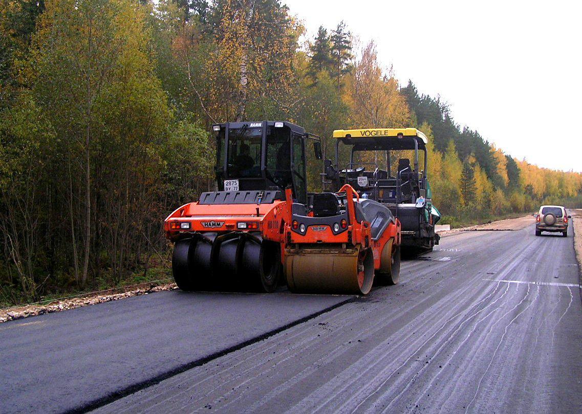 В Весьегонском районе Тверской области подходят к концу ремонт дорог, пострадавших от непогоды