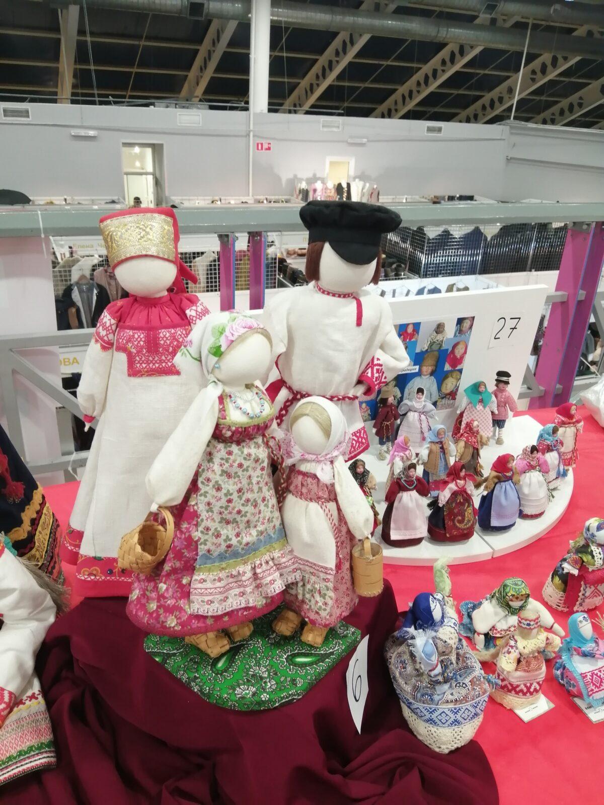 Жительница Тверской области победила в конкурсе текстильных кукол и игрушек