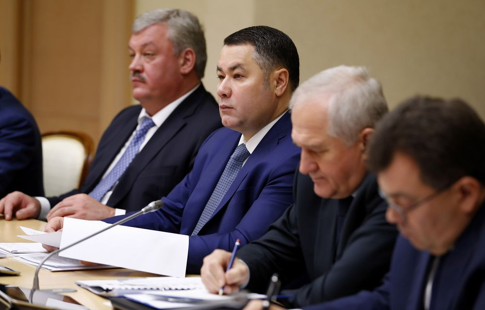 Игорь Руденя принял участие в заседании Совета при Президенте РФ по стратегическому развитию и нацпроектам