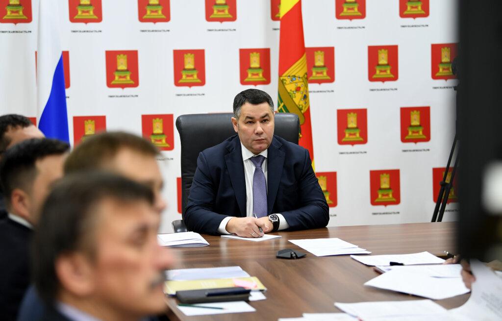 Губернатор Игорь Руденя принял участие во всероссийском селекторе по вопросам подготовки к отопительному сезону