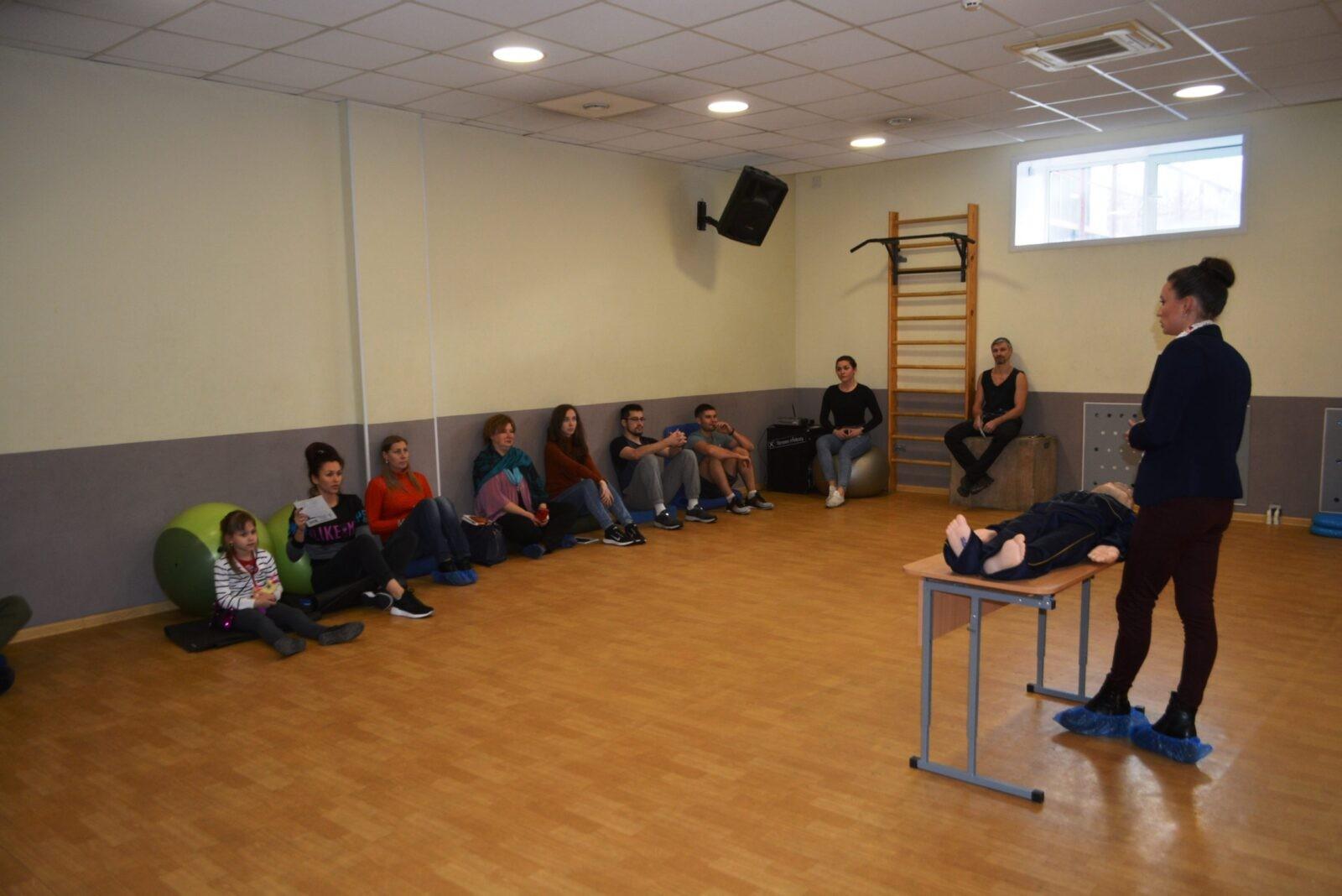 Тверской филиал «Россети Центр» провел урок электробезопасности для спортсменов