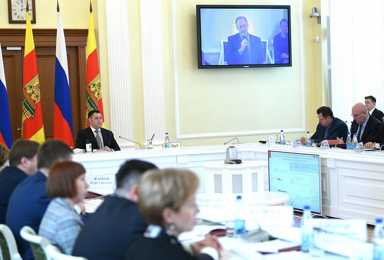На реализацию нацпроектов в Тверской области направят более 38 млрд рублей