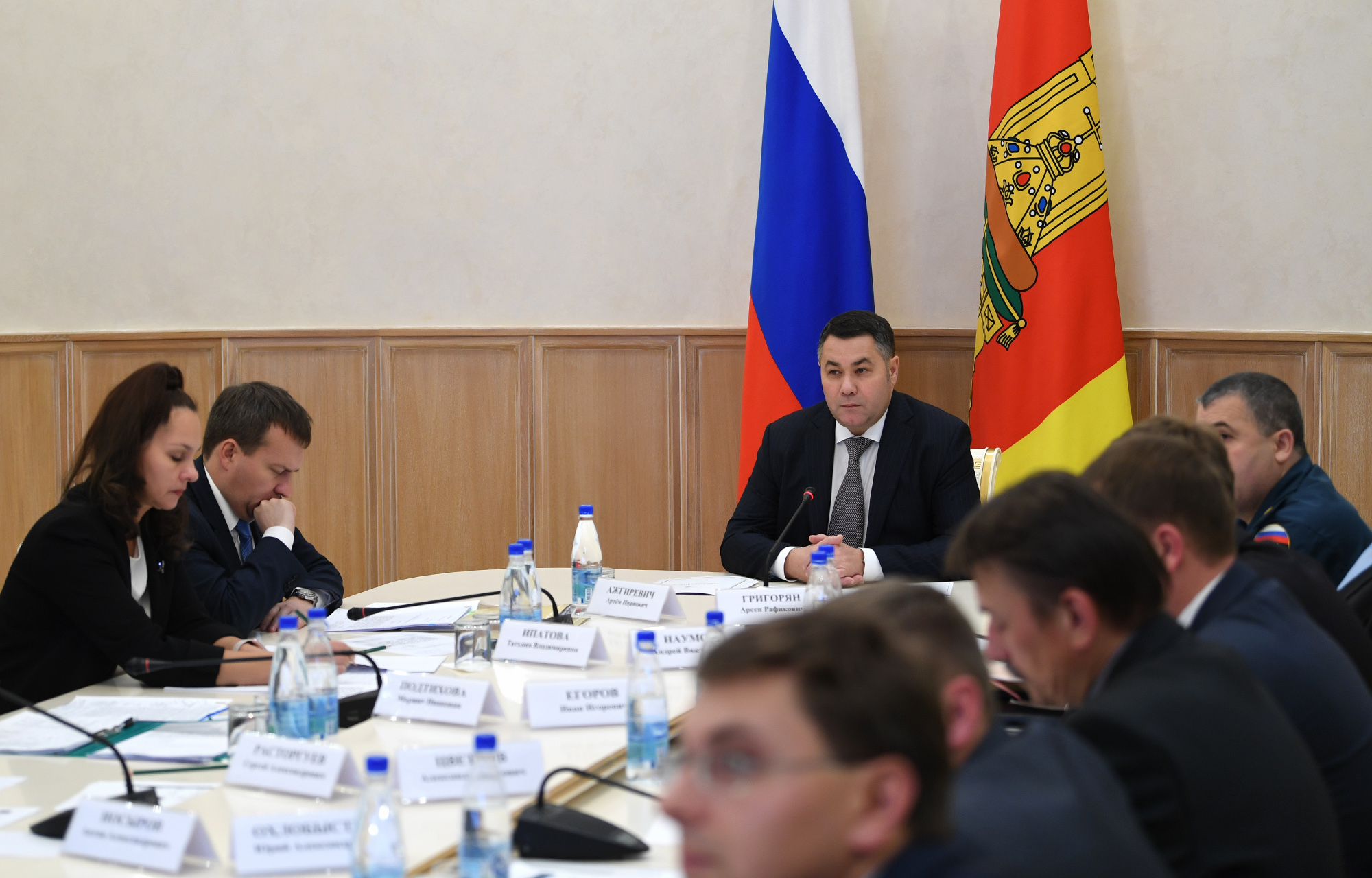 В Тверской области установят флаги по единому стандарту