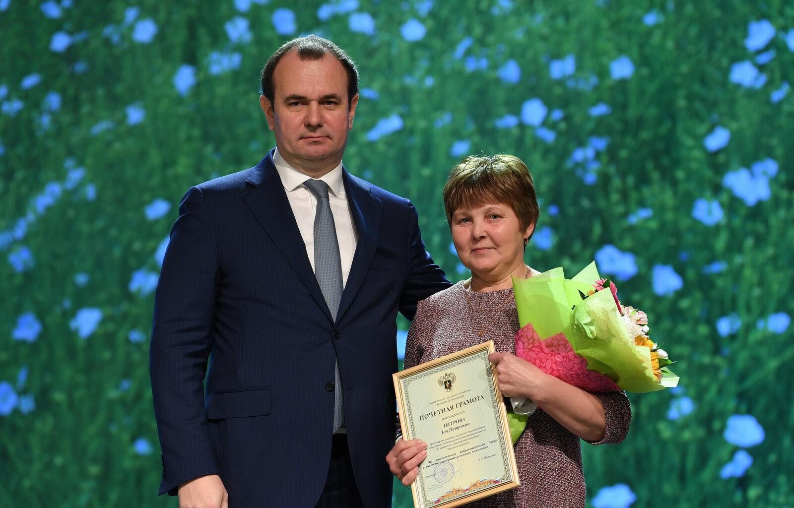 Зоя Петрова: Работники сельского хозяйства всегда должны быть в почете